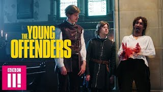 The Young Offenders Get Acting Tips From Robert Sheehan | The Young Offenders Christmas Special