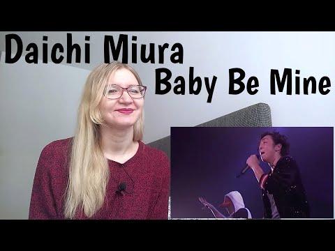 三浦大知 (Daichi Miura) - Baby Be Mine |Live Reaction|