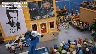 Johnny Hallyday playmobil Hommage