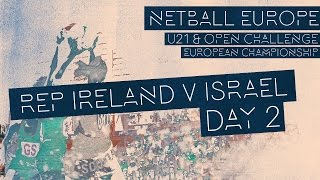 Republic of Ireland v Israel l Netball Europe Open Challenge 2017