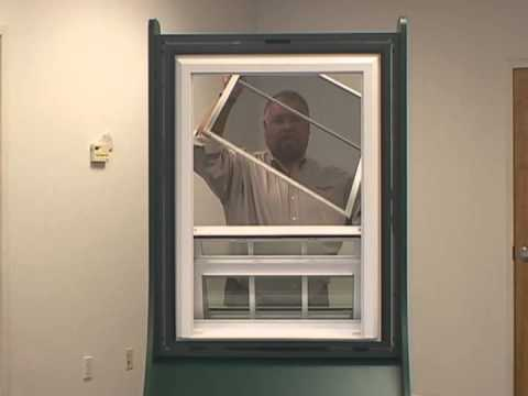Screen removal instructions for atrium windows youtube for Where to buy atrium windows