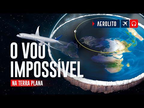 TERRA PLANA E O VOO IMPOSSVEL PARA O SUL EP 163
