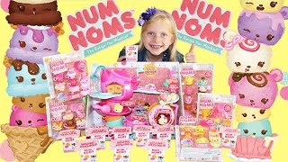 num noms stackable scented ice cream toys unboxing brand new just released blind box too