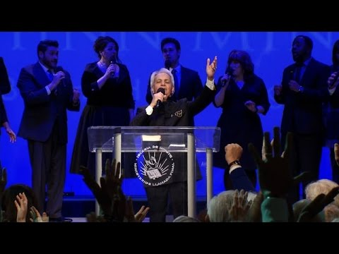 Benny Hinn 2017, Anointed Worship Results In Miracles!