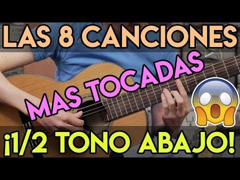 Las 8 Canciones De Rock MAS TOCADAS En Guitarra Acustica ¿Cuáles Te Sabes?