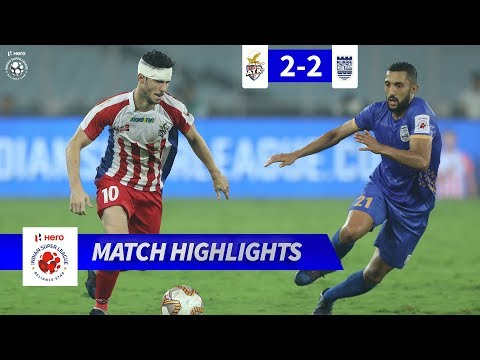 ATK 2 - 2 Mumbai City FC - Match 28 Highlights | Hero ISL 2019-20
