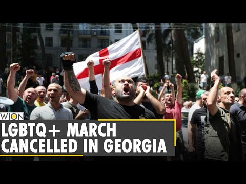 Tbilisi Pride march cancelled after far-right attack on headquarters | Georgia | Latest English News