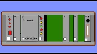 CP/M Computer mit Z80, Casetteninterface usw., ca. 1986 - Nostalgieelektronik