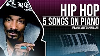 HIP HOP: 5 Songs To Play On The Piano   #006