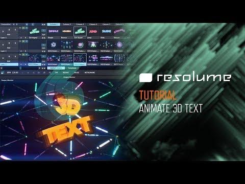 Resolume Avenue 4 & Arena 5 VJ Software Tutorials | DocOptic com