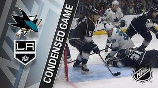 San Jose Sharks vs Los Angeles Kings – Jan. 15, 2018 | Game Highlights | NHL 2017/18. Обзор матча