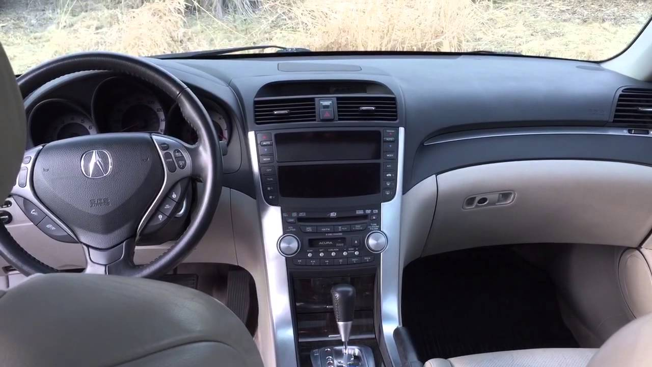 2008 acura tl interior and exterior tour youtube. Black Bedroom Furniture Sets. Home Design Ideas
