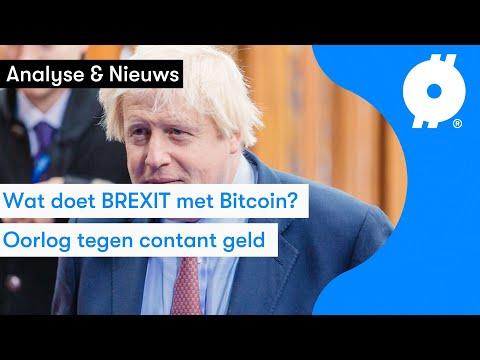 Britten Kopen Goedkoper Bitcoin Door Brexit | ING Wil Jouw Bitcoin Bewaren? | Koers Analyse
