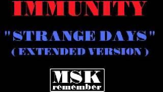 Immunity - Strange Days (Extended Version) 1985 Black Rock Records