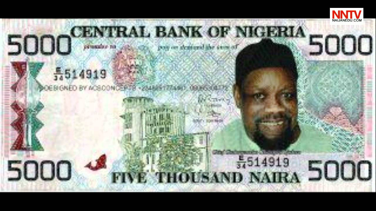 Image result for new 5000 naira notes