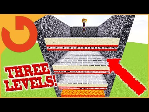 HACKER FORCED TNT RUN OR PERM BAN! (Minecraft Hacker Games)