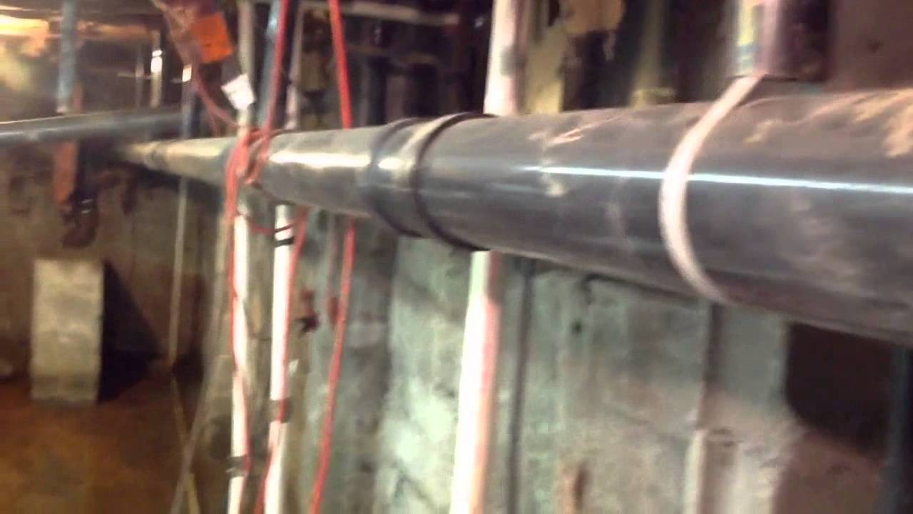 How to hang abs or PVC pipe & How to hang abs or PVC pipe - YouTube