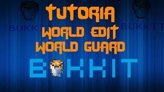 Minecraft - Plugin WorldEdit - WorldGuard [Tutorial Bukkit en Español] Construcciones mas Facil