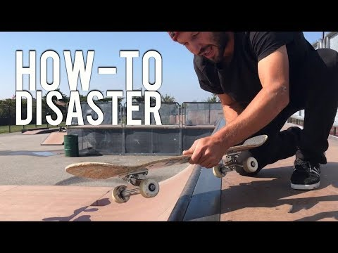 How To Backside Disaster On A Mini Ramp