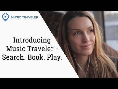 Introducing 'Music Traveler' - search, book, play.