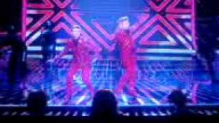 John & Edward - X Factor - Oops I Did It Again