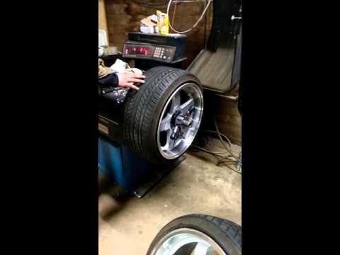 Nankang NS-1 On 245-35-18 10j Rota GTR Wheels. Tyrestretch!