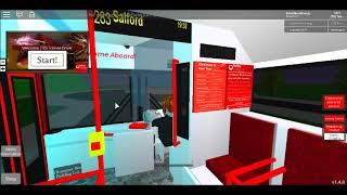 Roblox Bluefield Bus Simulator V1.4.8 Route 283(Bluefield-Salford-Bluefield)