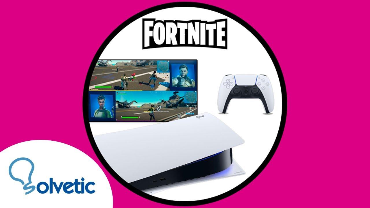 Como Jugar Fortnite Con Pantalla Dividida Como Jugar Fortnite En Pantalla Dividida Ps5 O Xbox Series X O S Solvetic
