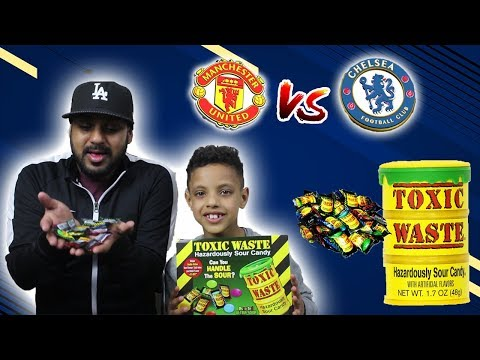 MANCHESTER UNITED VS CHELSEA FC!! FIFA FORFEIT CHALLENGE!! TOXIC WASTE!!