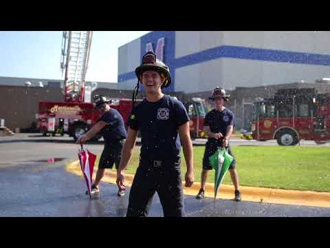 Martinsville Fire Department responds to the Martinsville Police #lipsyncchallenge #lipsynbattle