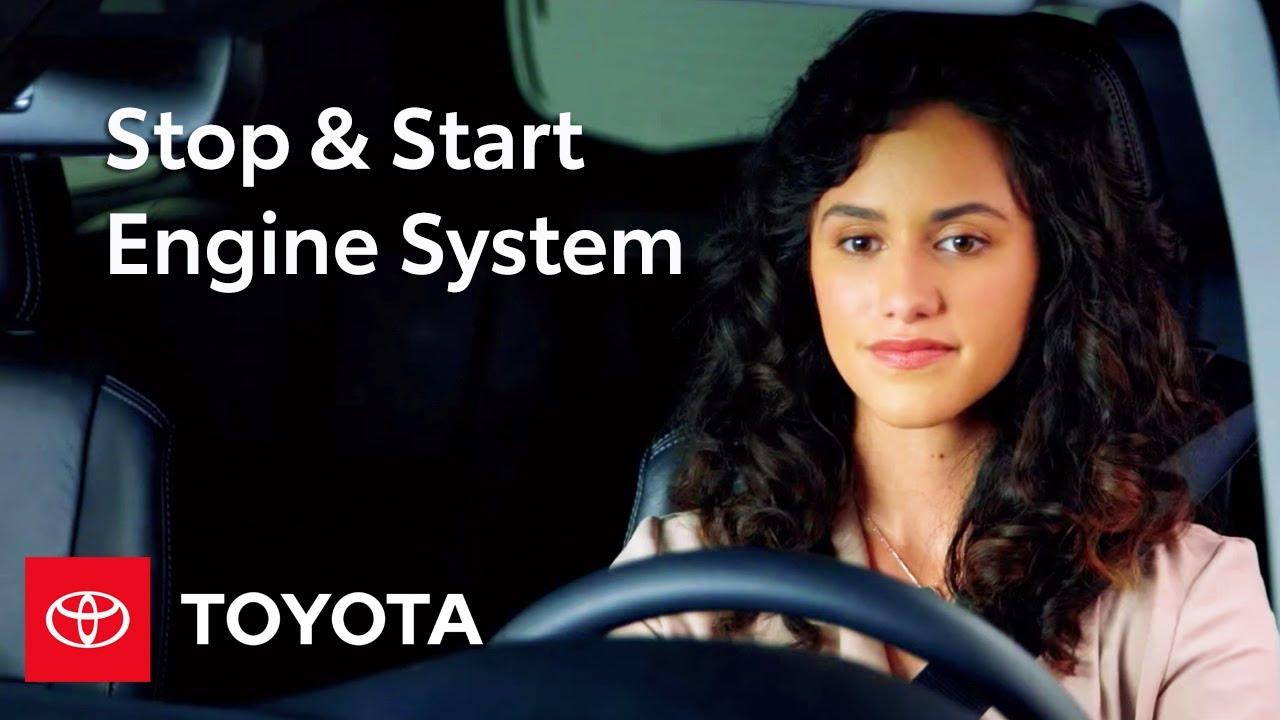 2017 Toyota Highlander How To Stop Start Engine System