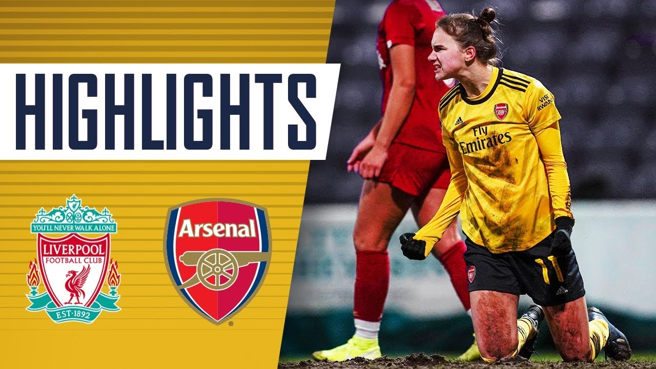 MIEDEMA WITH THE WINNER! | Liverpool 2-3 Arsenal | Women's Super League highlights