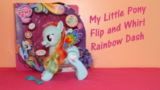 My Little Pony RAINBOW DASH Flip and Whirl Toy