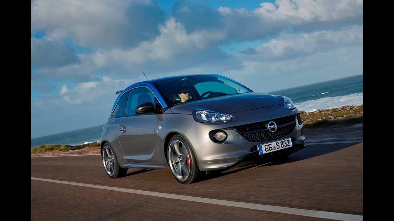 opel adam s die sports kanone opel blog youtube. Black Bedroom Furniture Sets. Home Design Ideas
