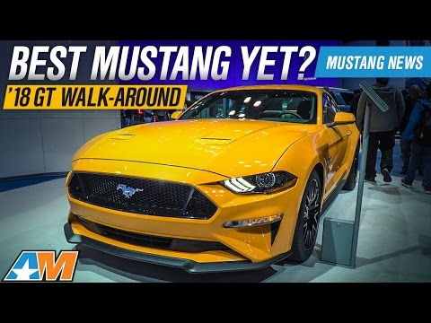 2018 Mustang In Person Review At The New York Auto Show || 2018 Ford Gt + Dodge Demon Sneak Peak