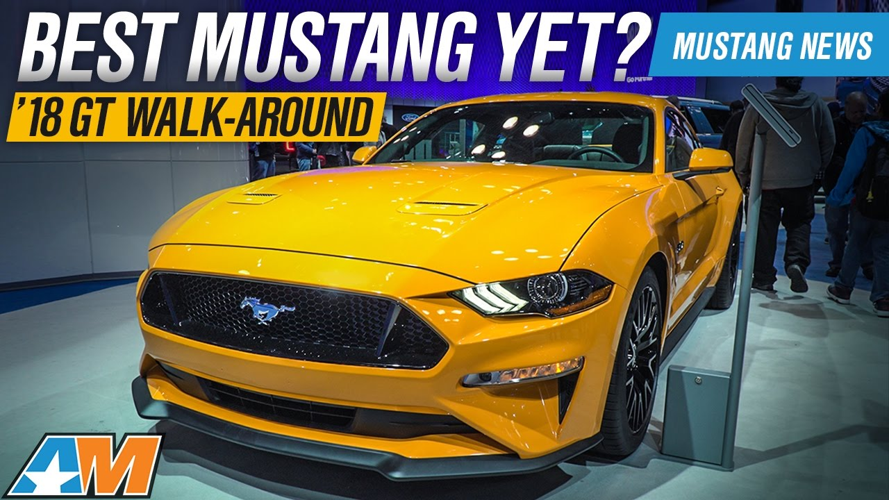 2018 Mustang In Person Review At The New York Auto Show Ford Gt Dodge Demon Sneak Peak