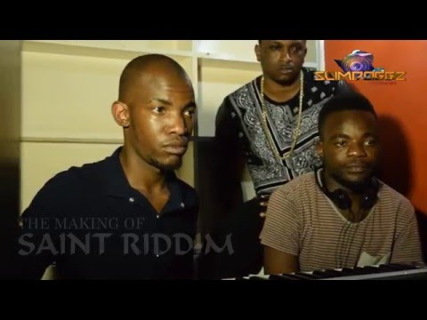 OSKID MAKING OF SAINTS RIDDIM STARRING  KING LABASH (Official by Slimdoggz Entertainment)