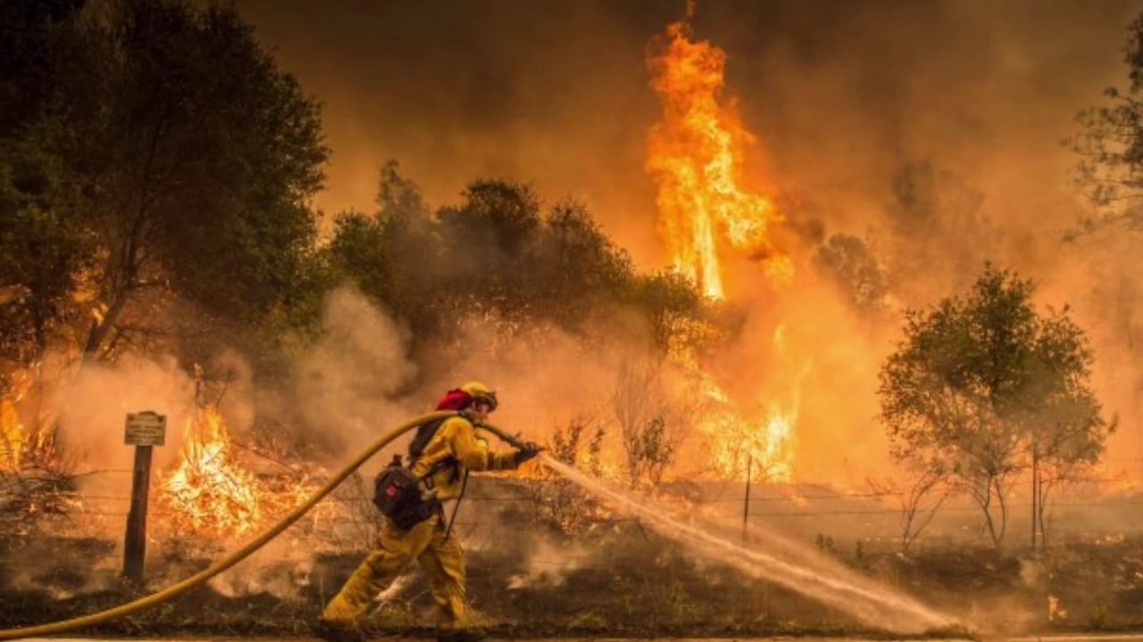 CAMP FIRE (PARADISE/MAGALIA, CA) - 2018 #1