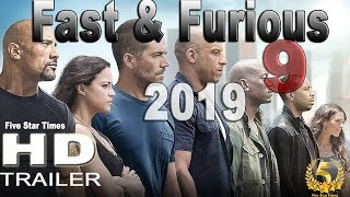 Fast & Furious 9  Official Trailer 2019 HD