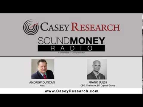 Podcast Ep 14: Currency devaluation and the Euro - Frank Suess Interview
