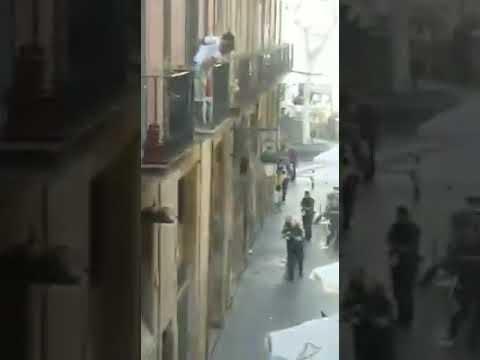 Barcelona Spain Terrorist Attack Warning: Graphic Content