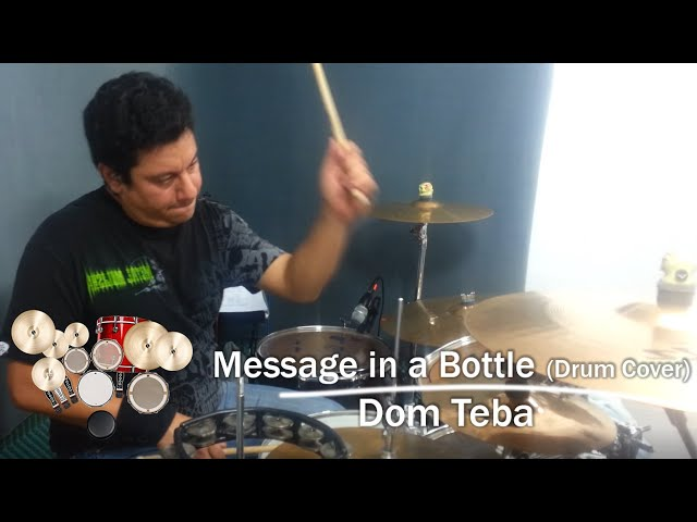 Message in a Bottle - The Police - Drum Cover by DMO Drummer