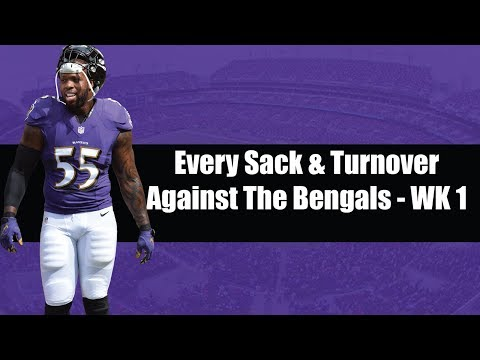 Every Turnover and Sack Against The Bengals