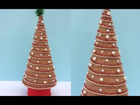 diy tabletop christmas tree easy cheap christmas decoration ideas stylenrich