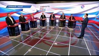 Дебаты 2018 на ОТР (07.03.2018, 21:05)