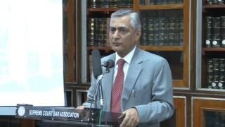 Inauguration of E-Library at SCBA Library by Justice Mr. T.S.Thakur, Judge Supreme Court of India