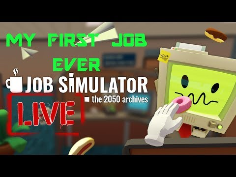 VR Live - BZG Bro's Find Their First Jobs In Job Simulator