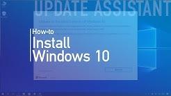 Windows 10 Creators Update: 'Update Assistant' install process