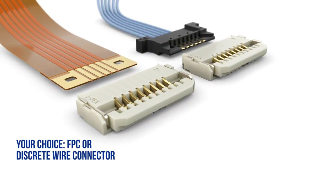 DW 5 / Hybrid Connector for Discrete Wire and FPC / I-PEX Connectors ...