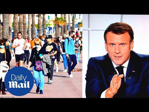 France Covid-19 lockdown: Locals react to new coronavirus restrictions